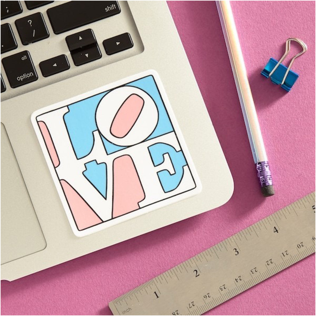 LOVE Sticker Lifestyle