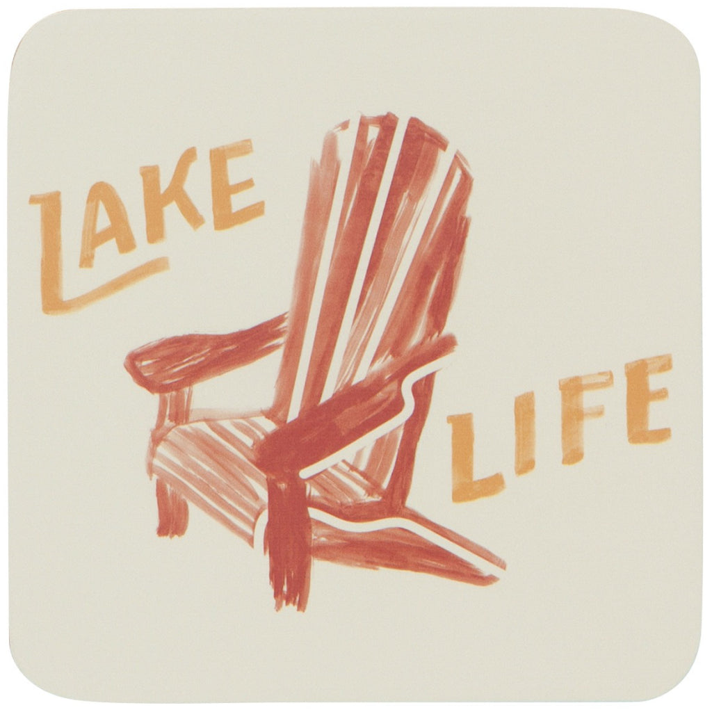Lake Life Coasters Set of 4 Alternate Image
