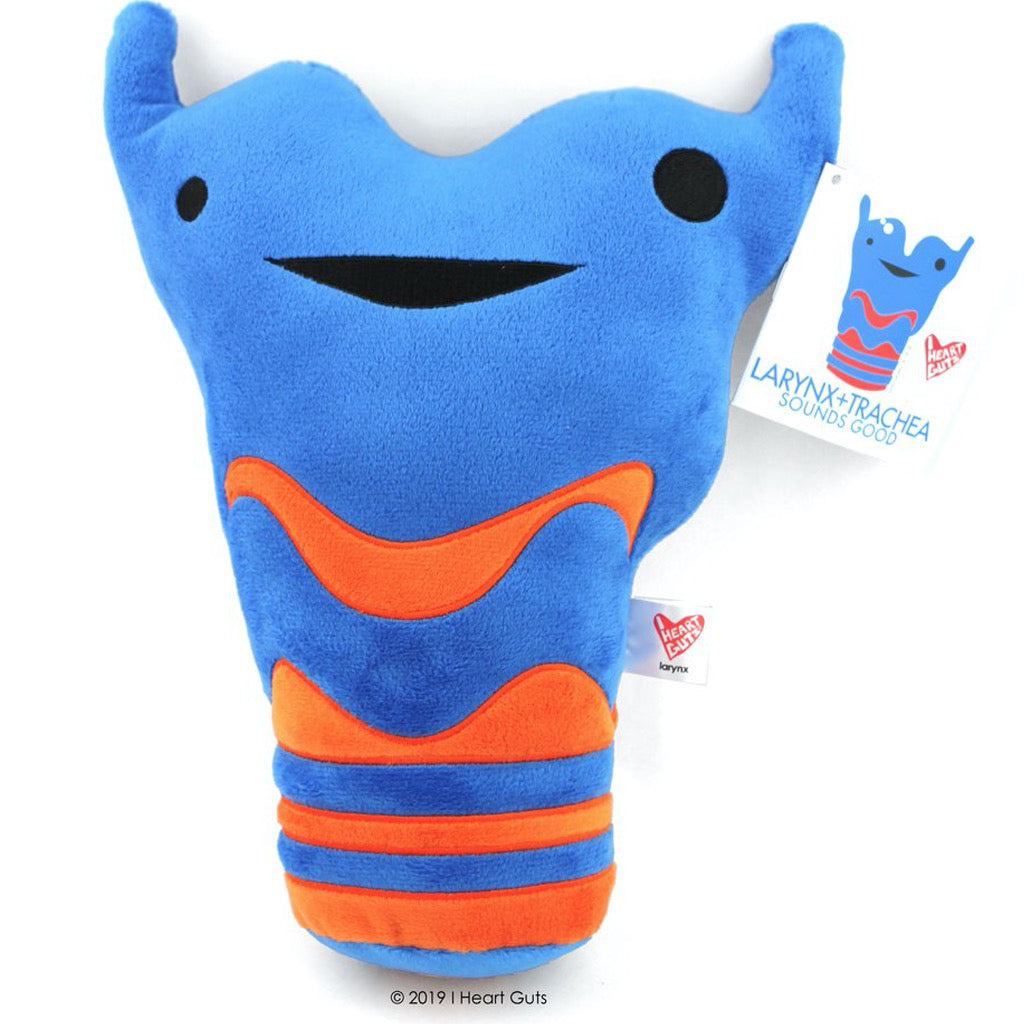 Larynx and Trachea Plush With tag