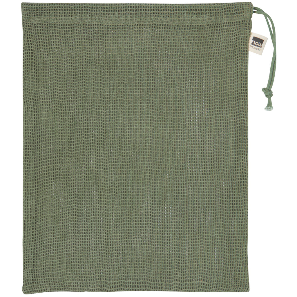 Le Marché Set Of 3 Produce Bags Green