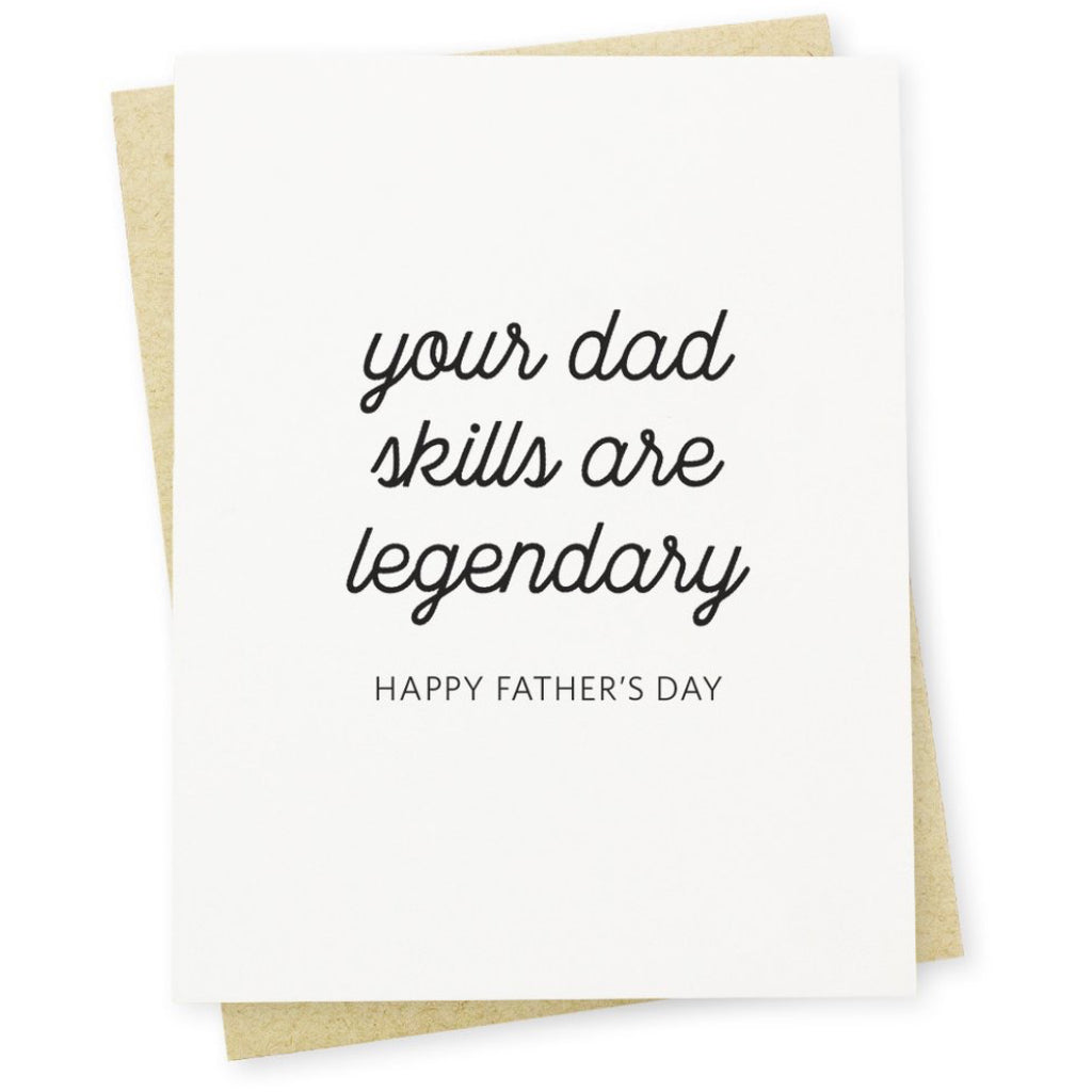 Legendary Dad Card