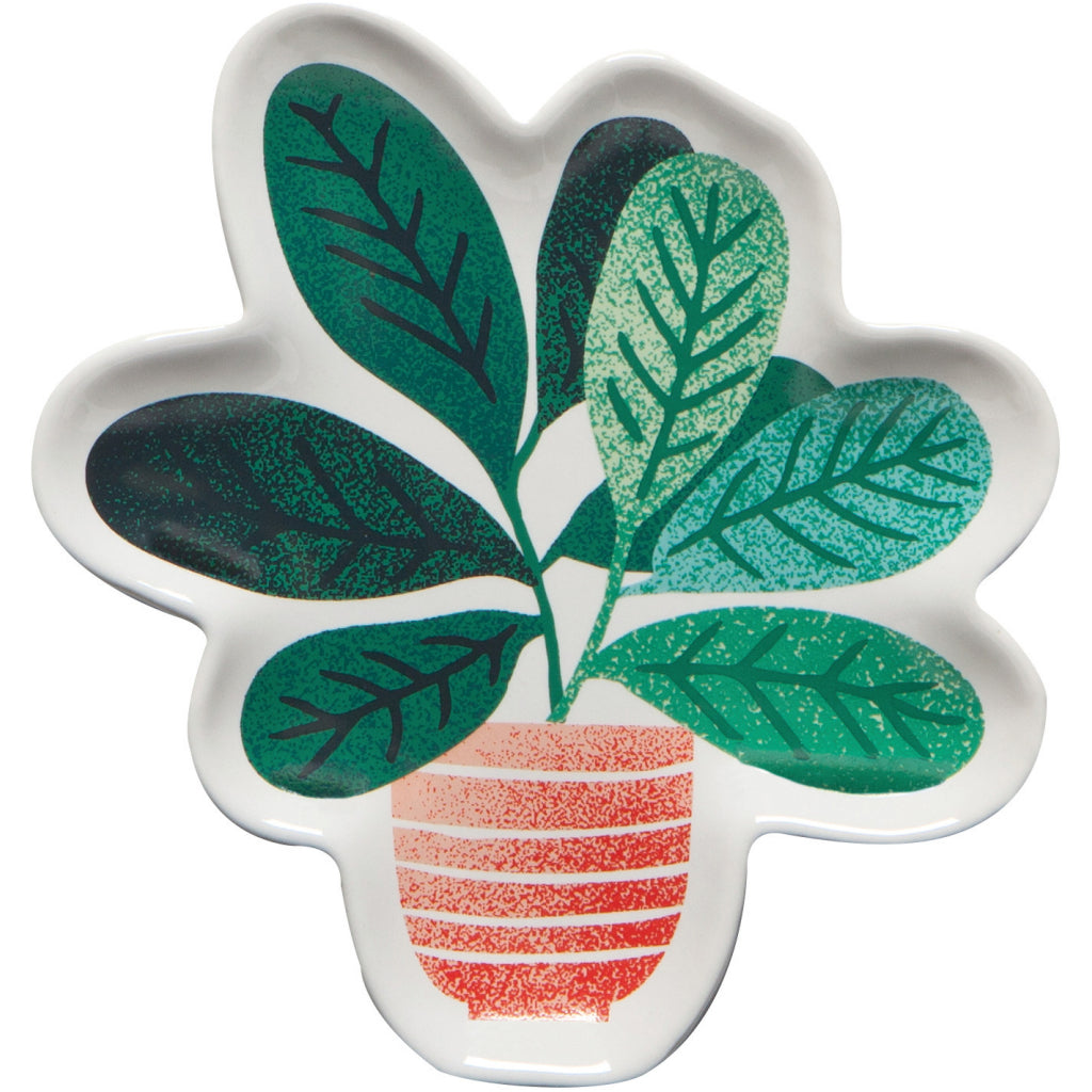 Let It Grow Shaped Dishes Set of 3 Detail