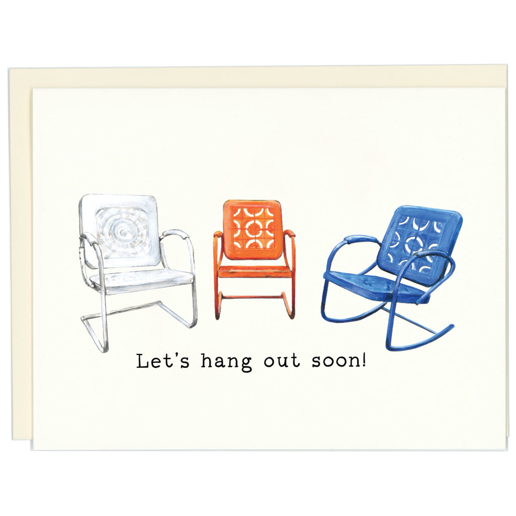 Let's Hang Out Soon CArd