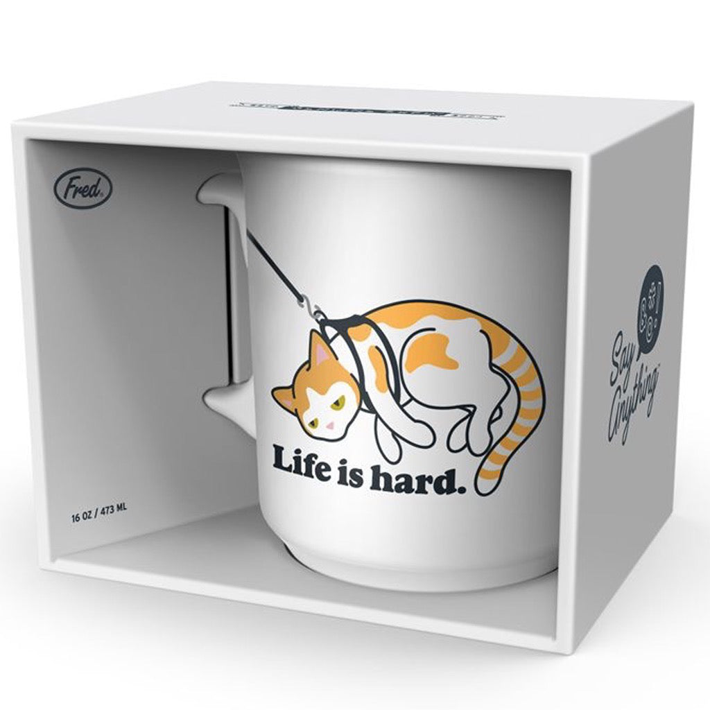 Life Is Hard Mug In Package