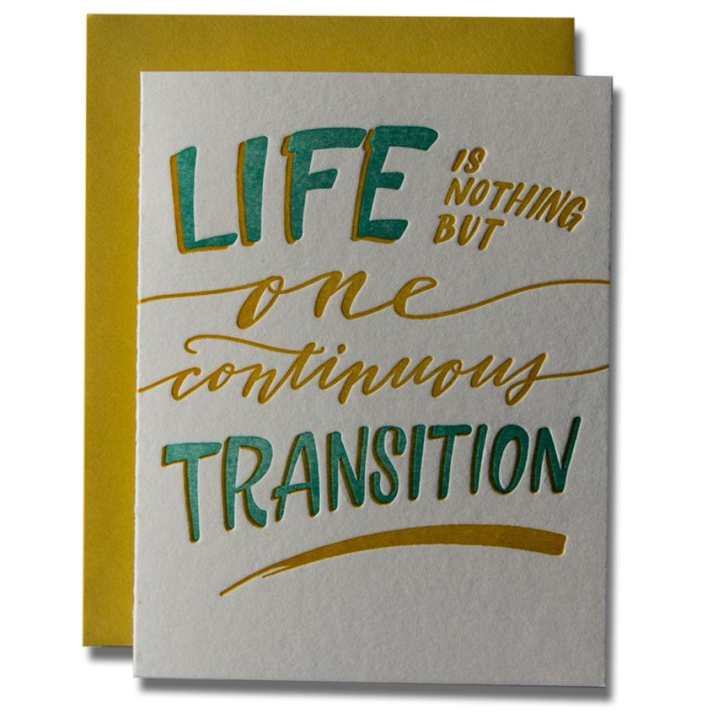 Life Transition Card