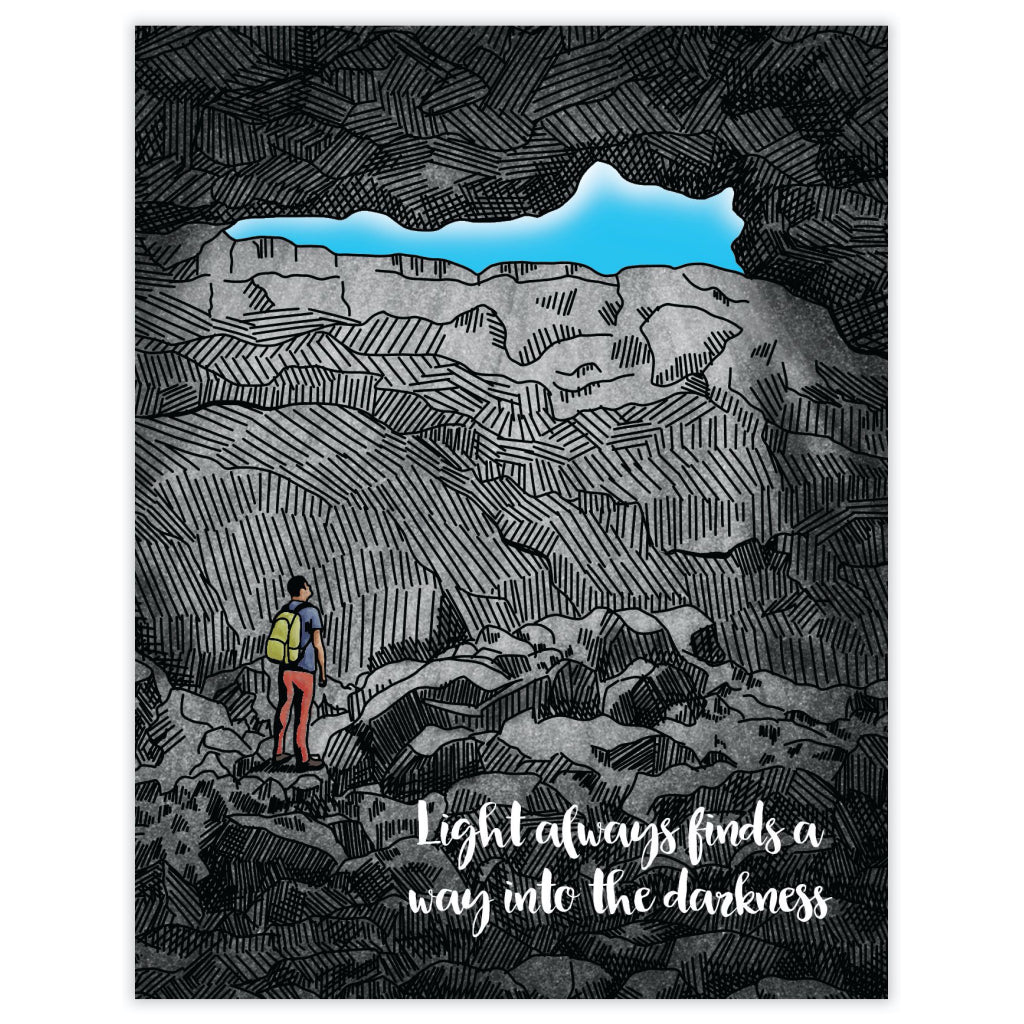 Light In The Darkness Card