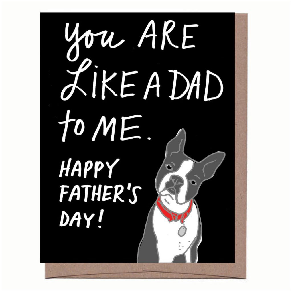 Like A Dad To Me Card