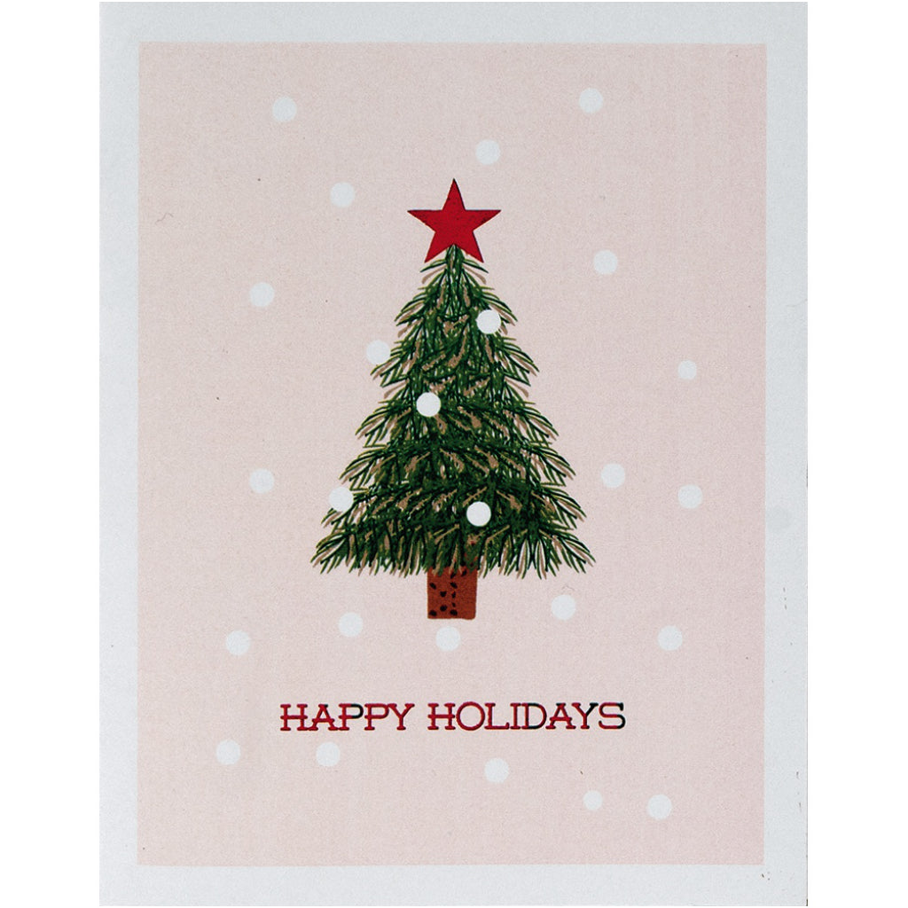 Unique Boxed Christmas Cards.Little Tree Boxed Christmas Cards Cute Christmas Cards In