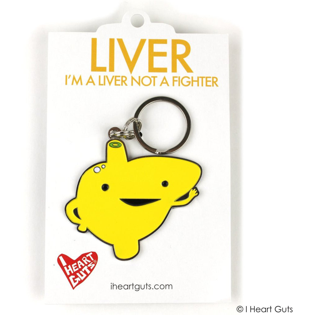 Liver Key Chain package