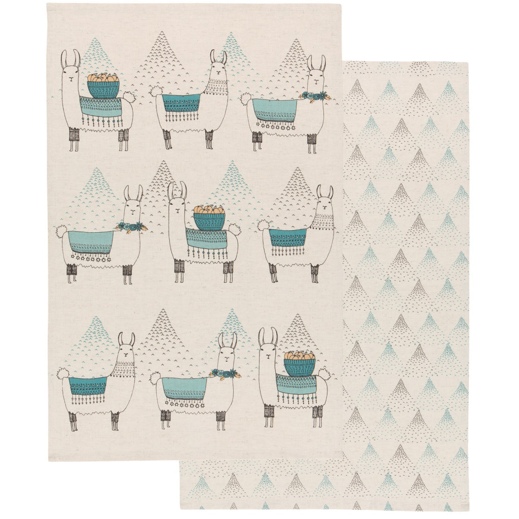 Llamarama Tea Towels