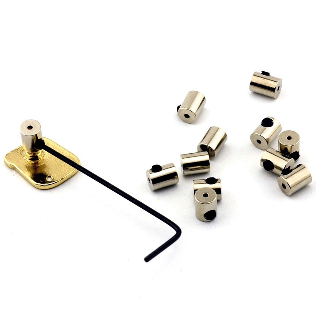 Locking Pin Keepers Set of 12 with Allen Key