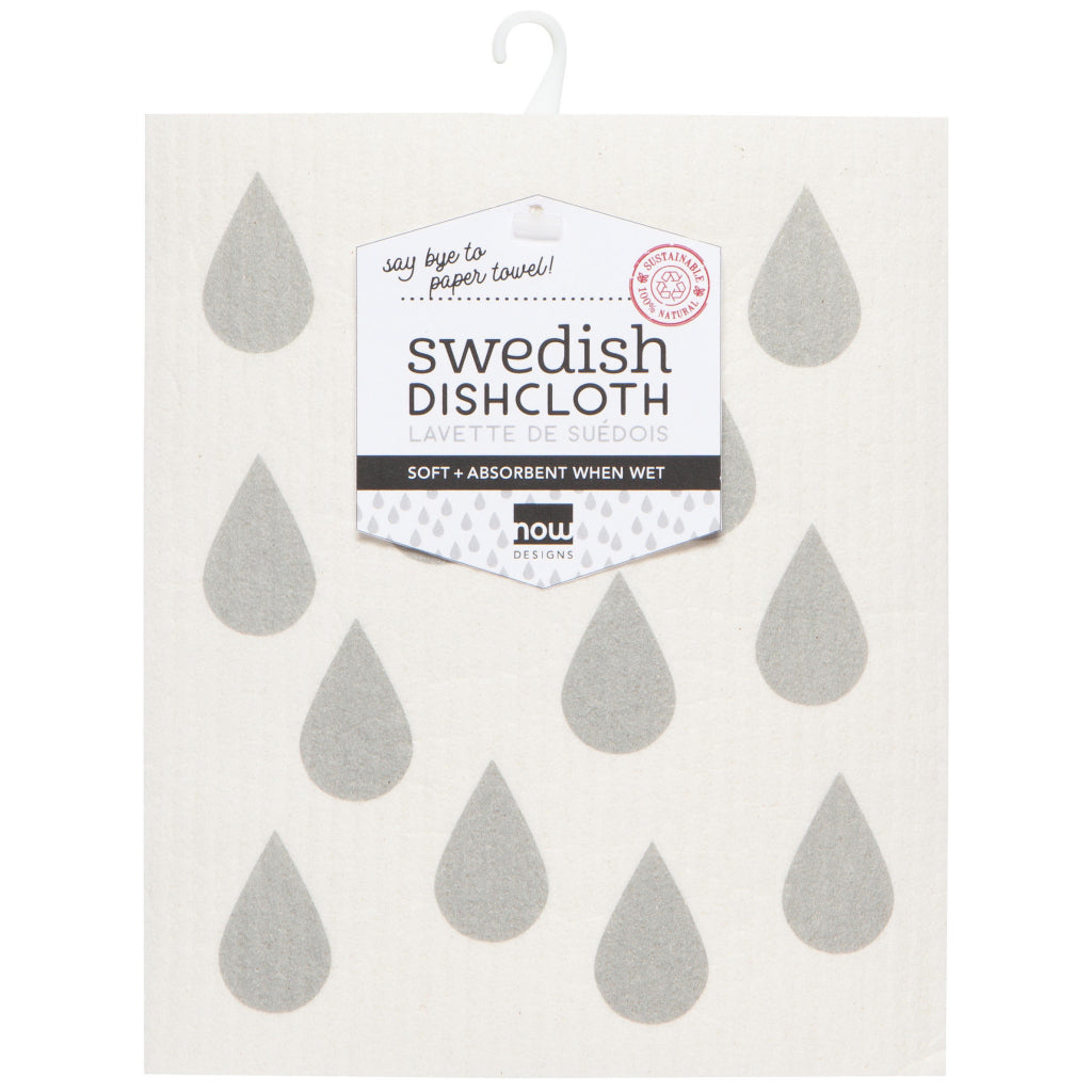 London Gray Swedish Dishcloth In Package