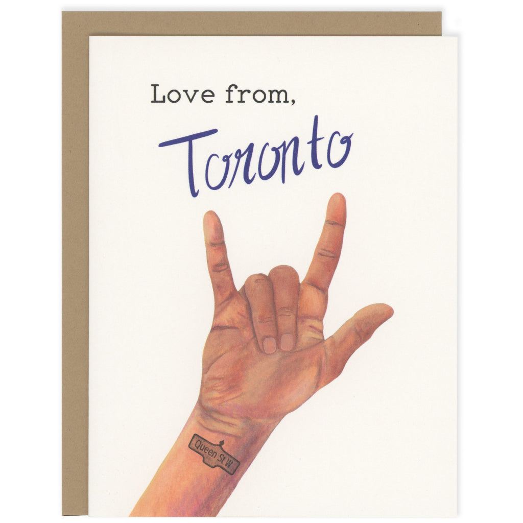Love From Toronto Card
