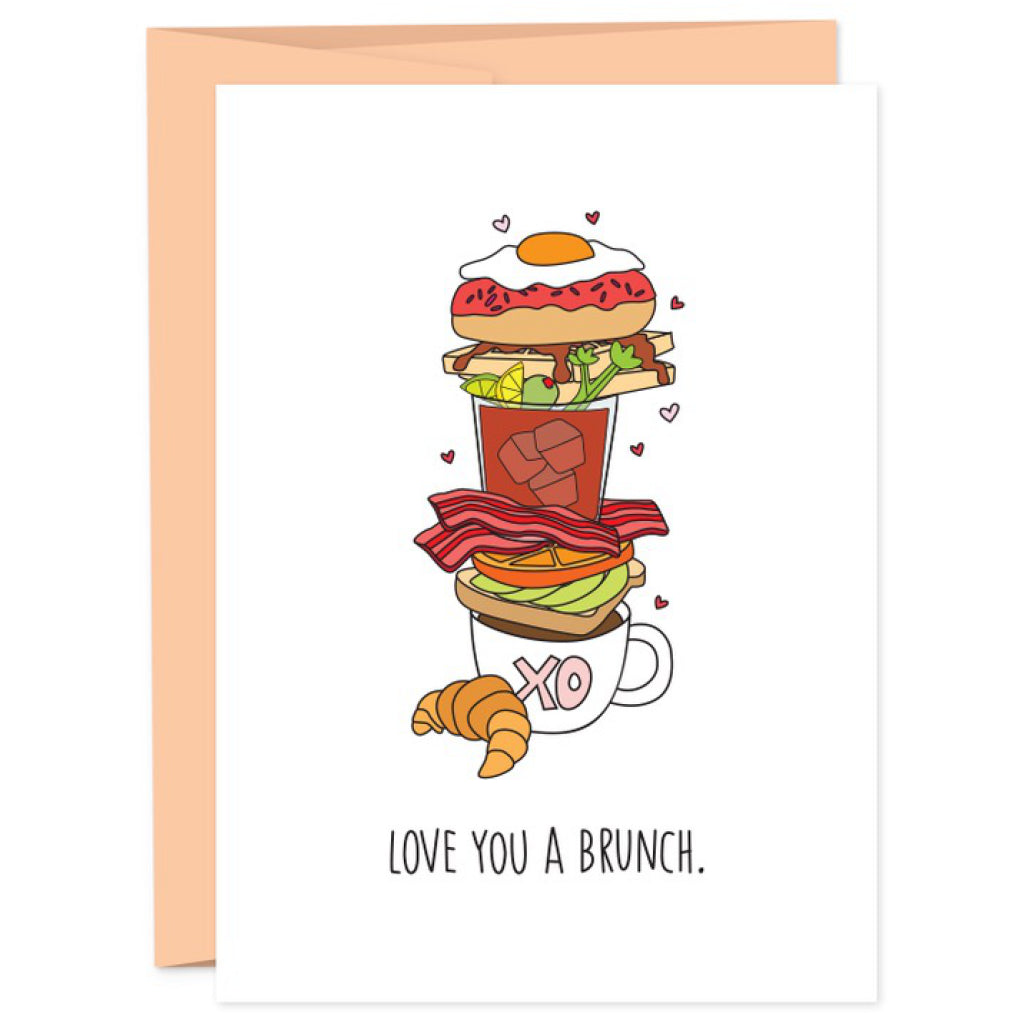 Love You A Brunch Card