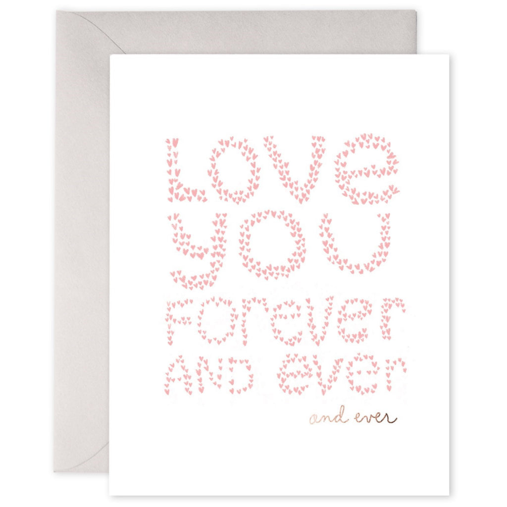 Love You Forever And Ever Card