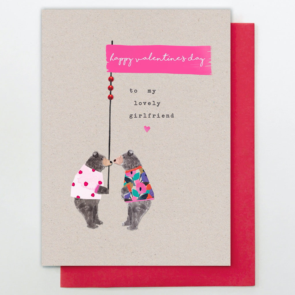 Lovely Girlfriend Bears Card
