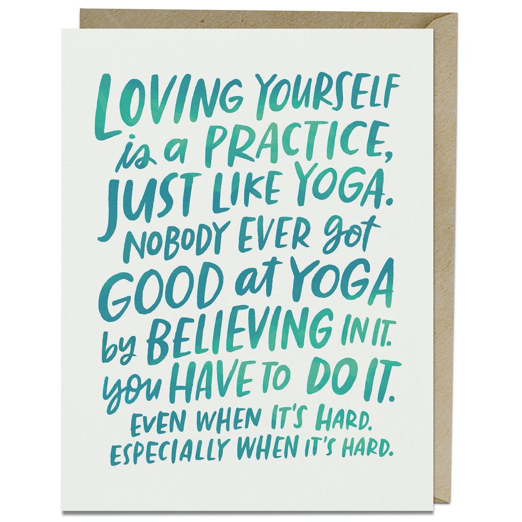 Loving Yourself Card