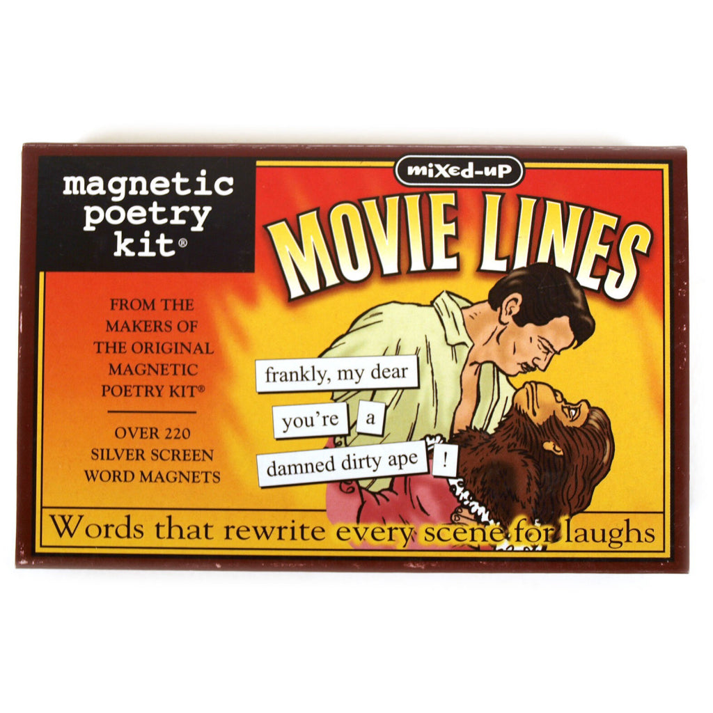 Magnetic Poetry Mixed Up Movie Lines