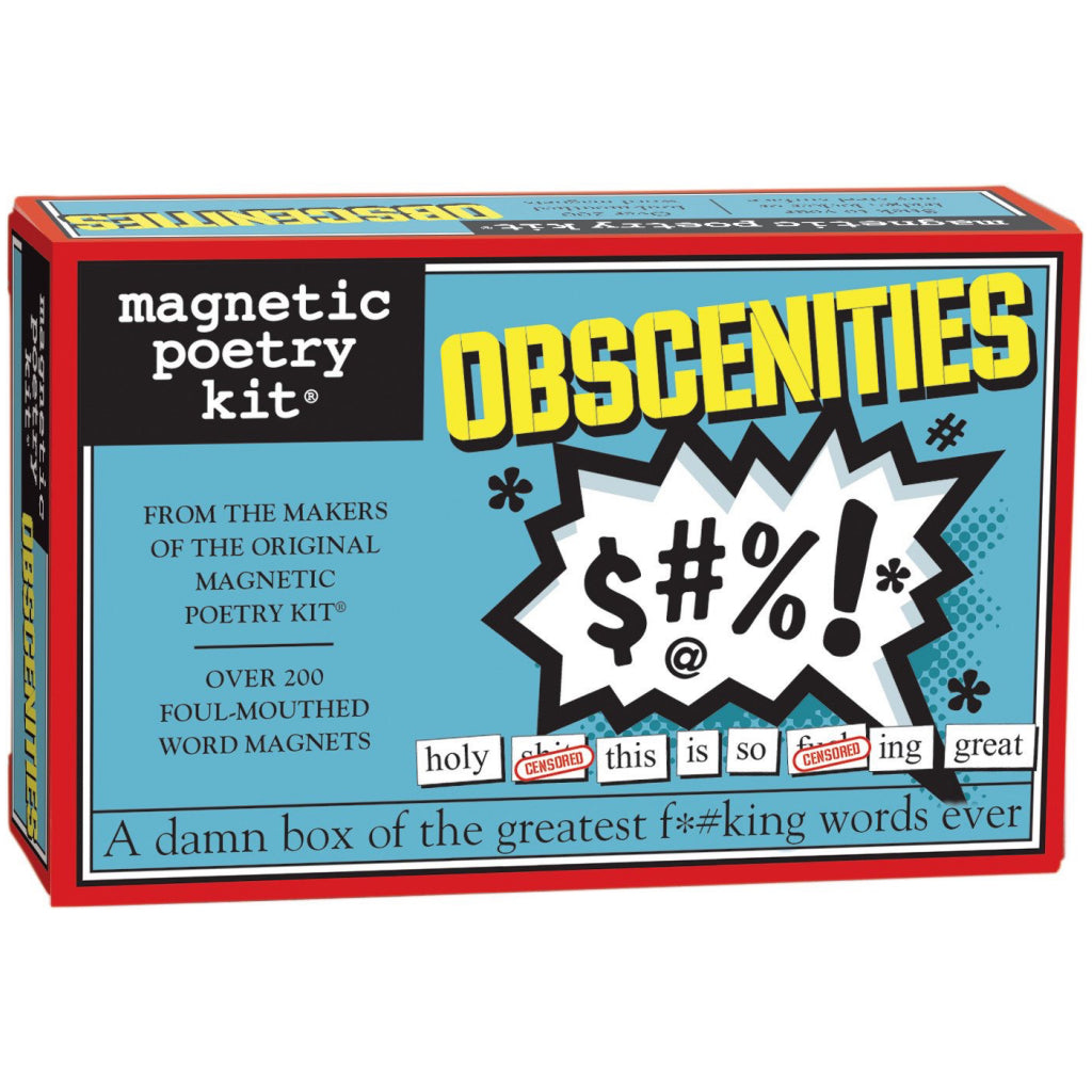 Magnetic Poetry Obscenities