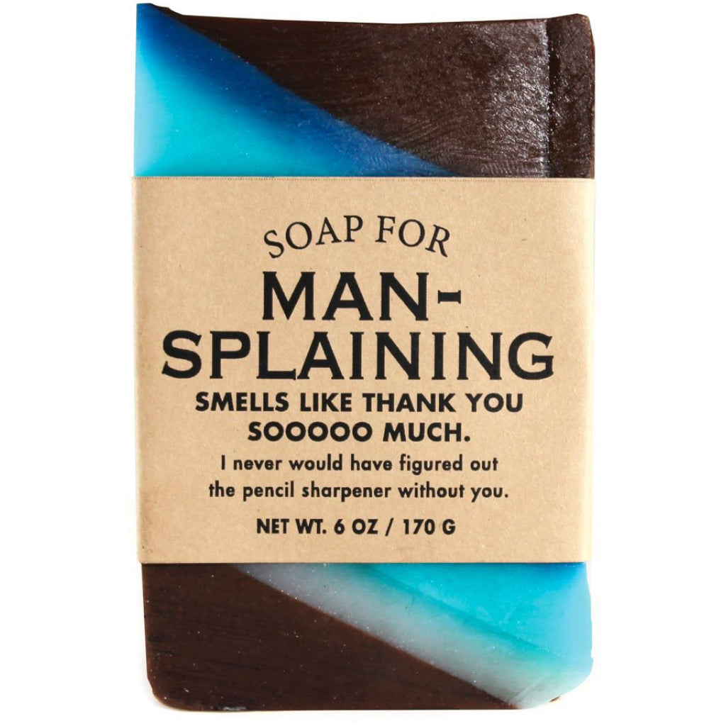 Mansplaining Bar Soap