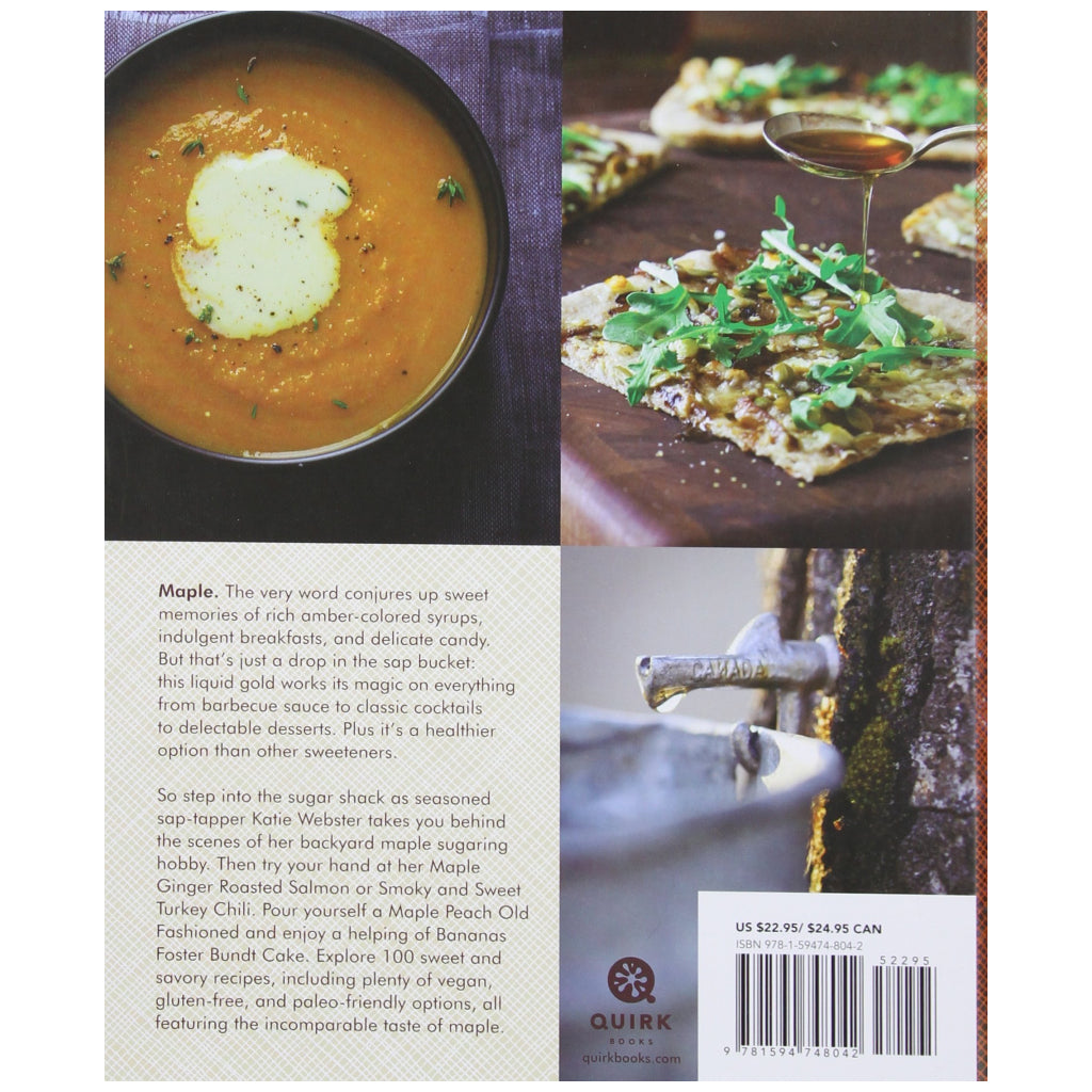 Back of Maple - Sweet & Savory Recipes.