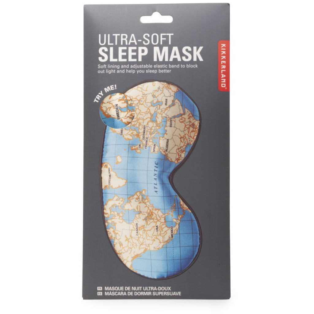 Maps Ultra Soft Sleep Mask Packaged