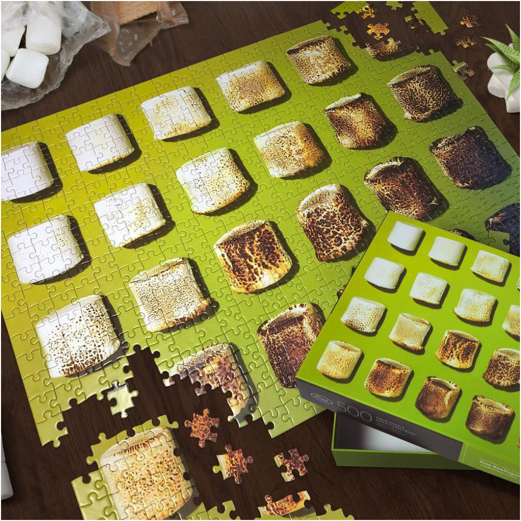 Marshmallows 500 Piece Puzzle Lifestyle