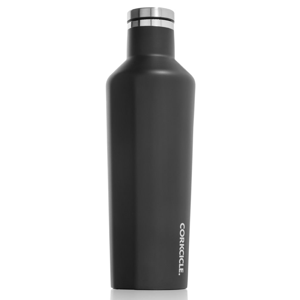 Matte Black Canteen 16oz