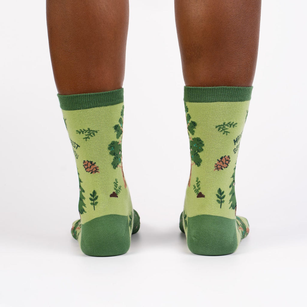 May The Forest Be With You Women's Crew Socks Back