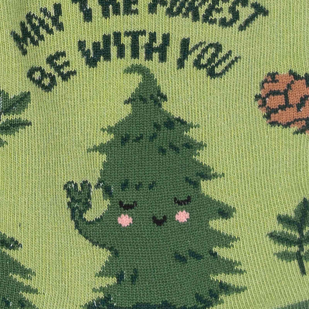 May The Forest Be With You Women's Crew Socks Close-Up