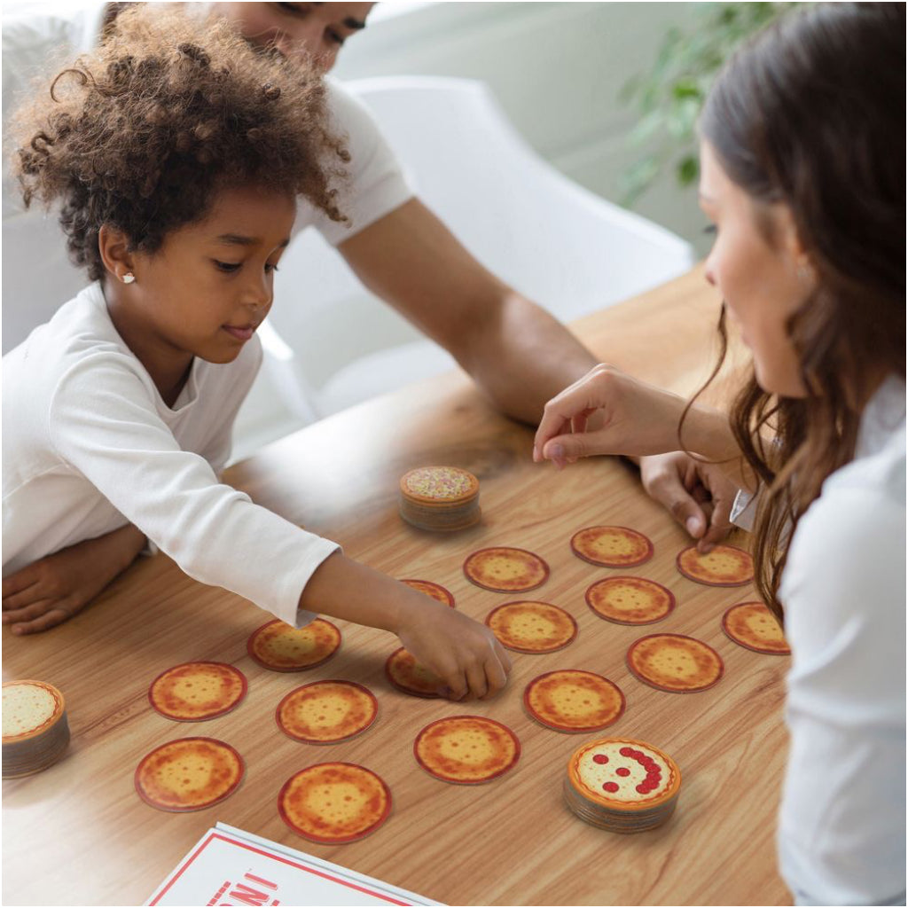 Memoroni Pizza Memory Game In Use