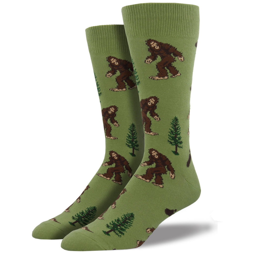 Men's Bigfoot Socks Moss Green
