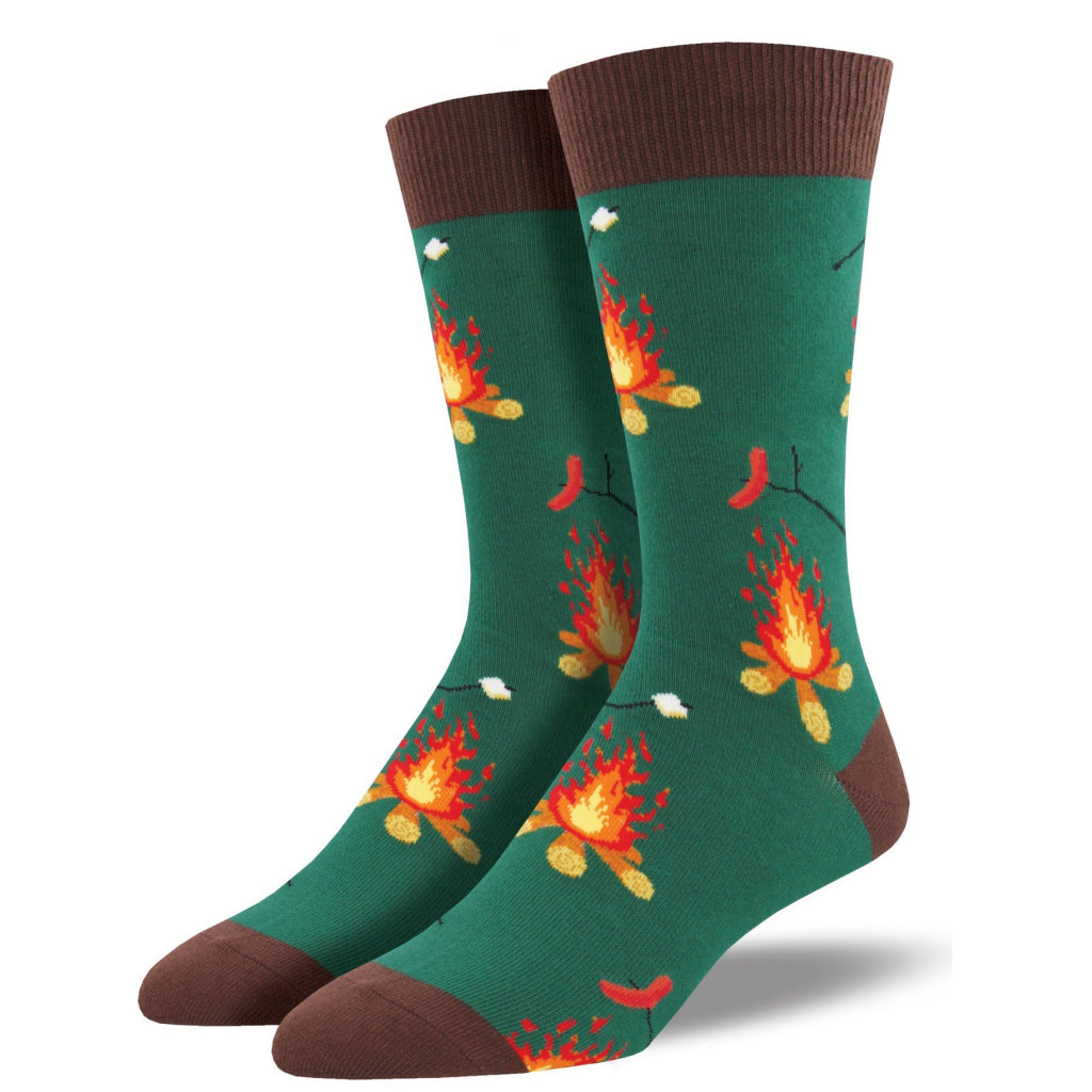 Men's Campfire Socks Forest Green