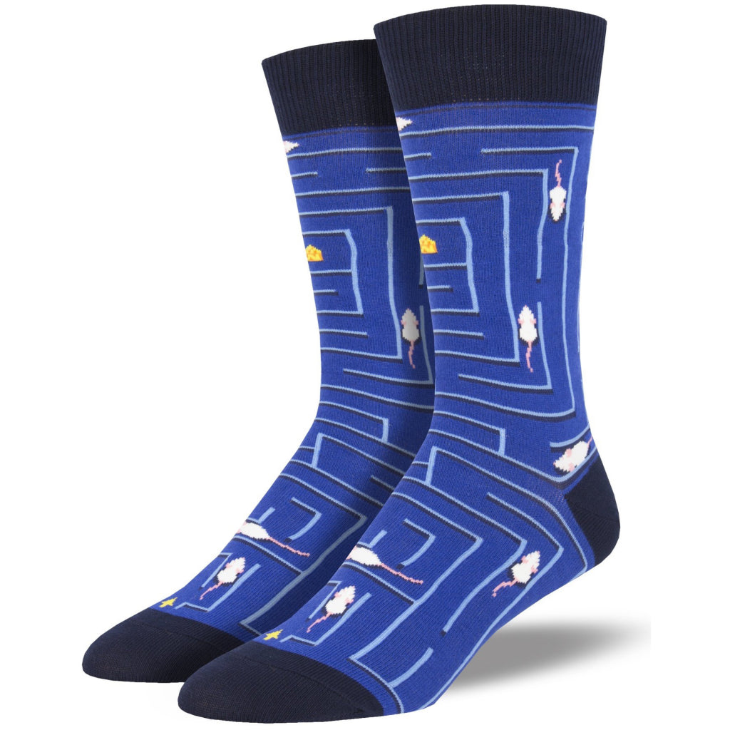 Men's Rat Race Socks Blue