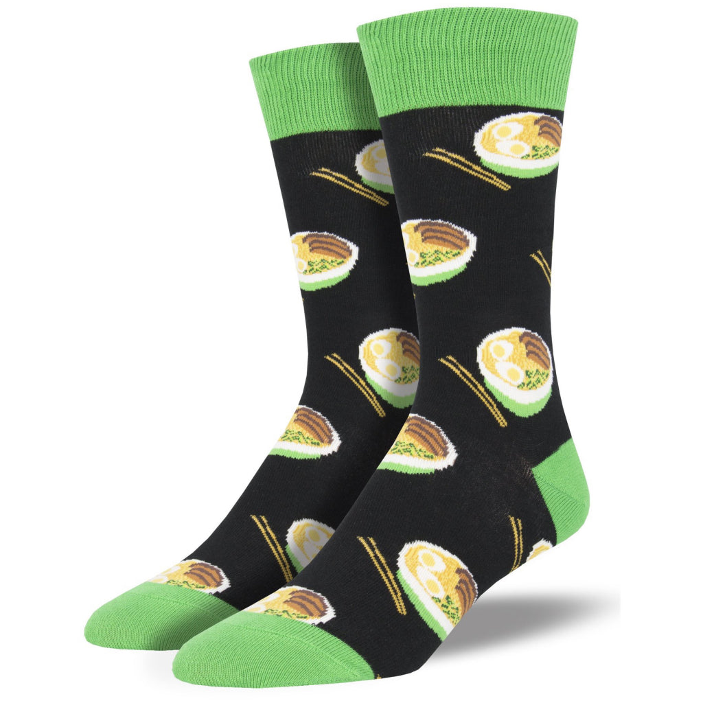 Men's Use Your Noodle Socks Black
