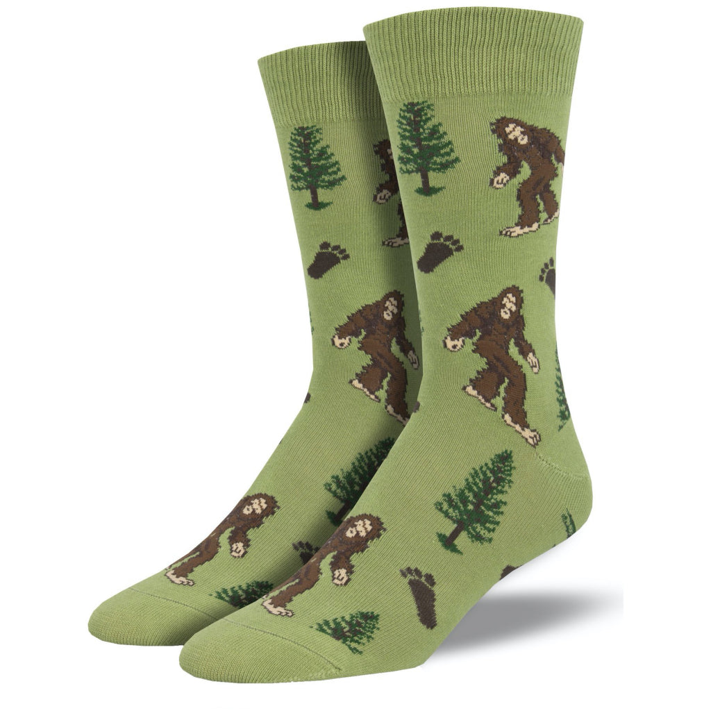 Men's Bigfoot Socks Moss