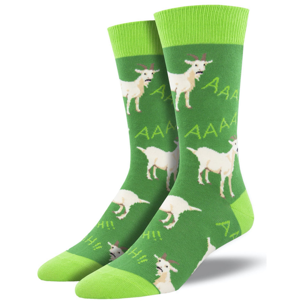 Men's Screaming Goats Socks Green