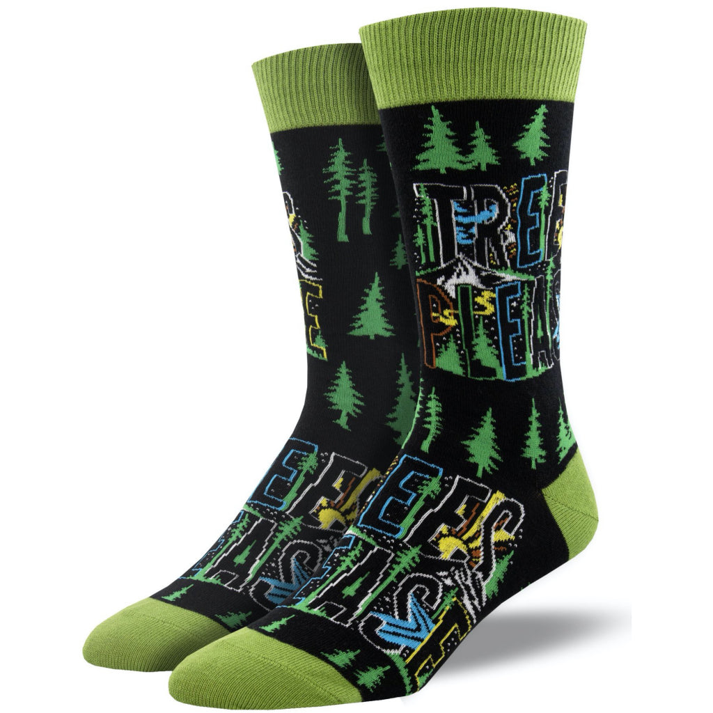 Men's Trees Please Socks Navy