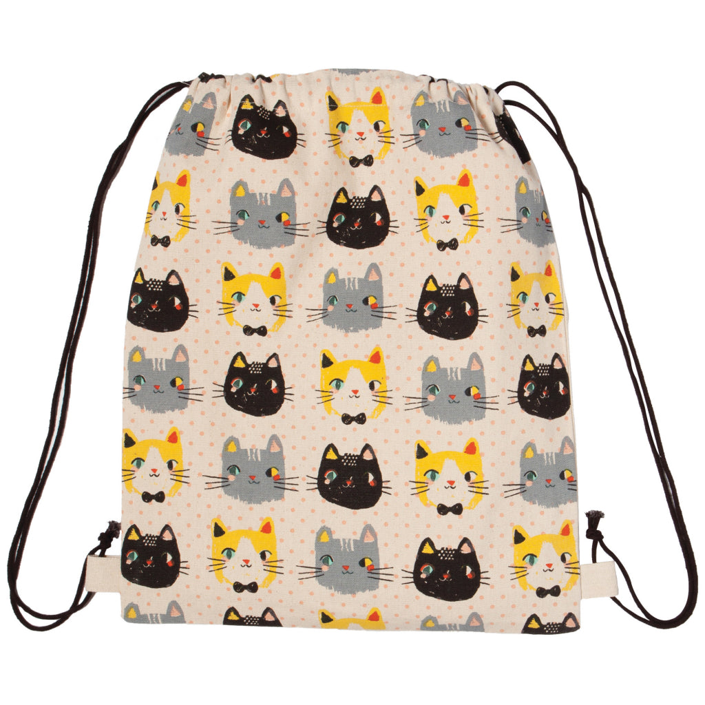 Meow Meow Cinch Backpack