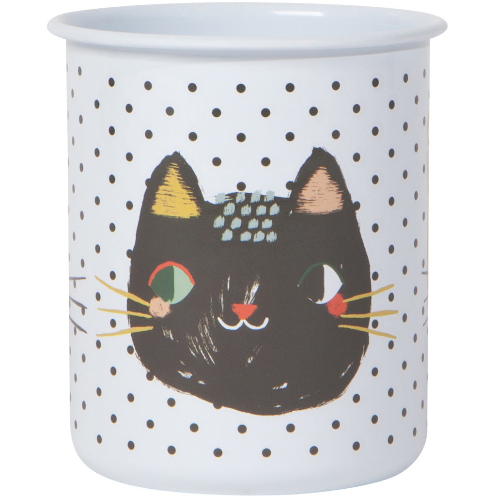 Meow Meow Pencil Cup Reverse
