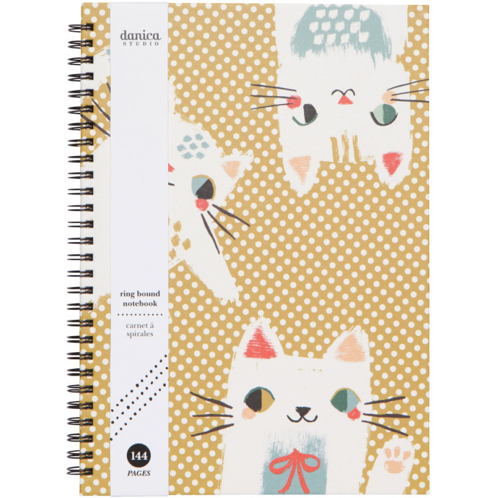 Meow Meow Ring Bound Notebook Packaging