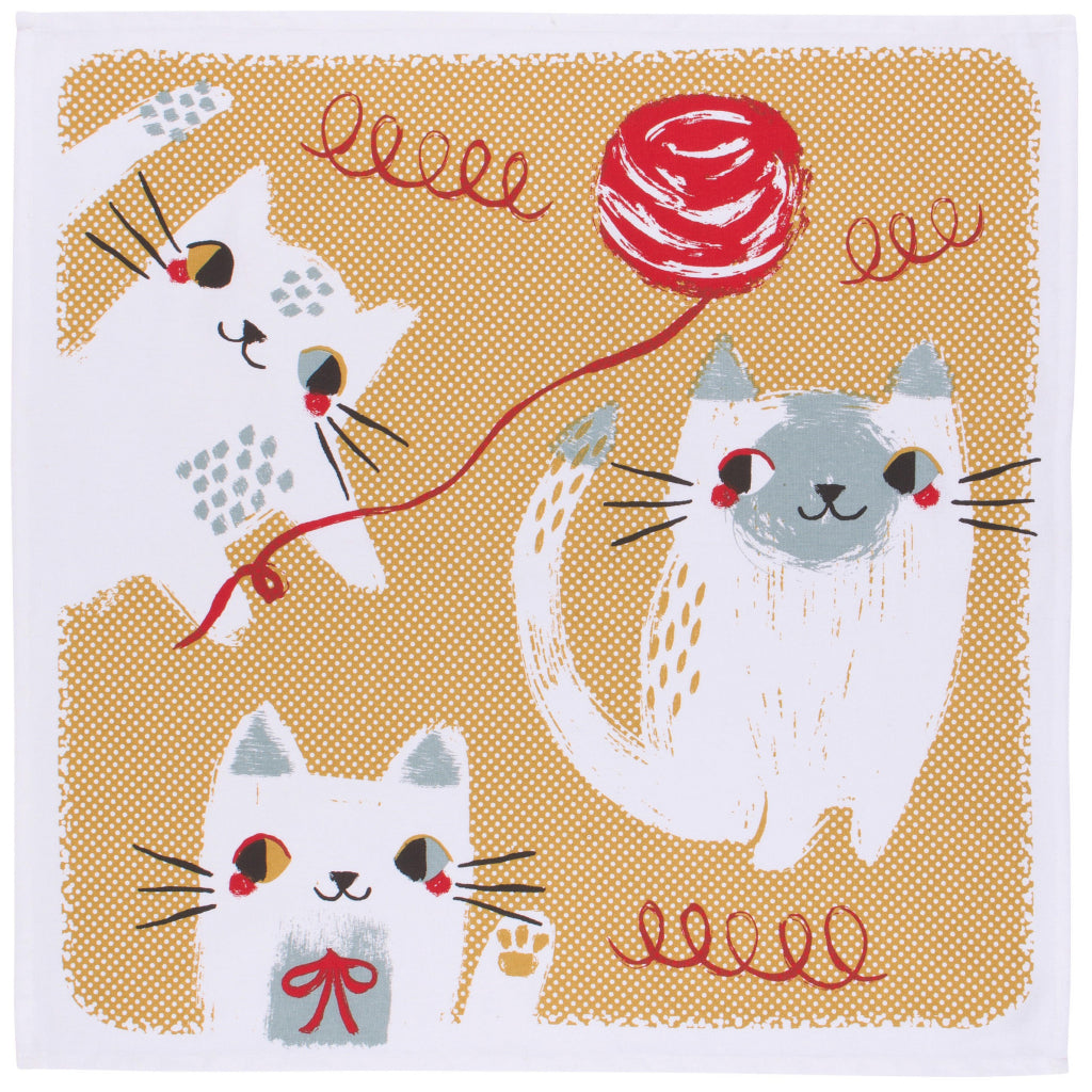 Meow Meow Tea Towel