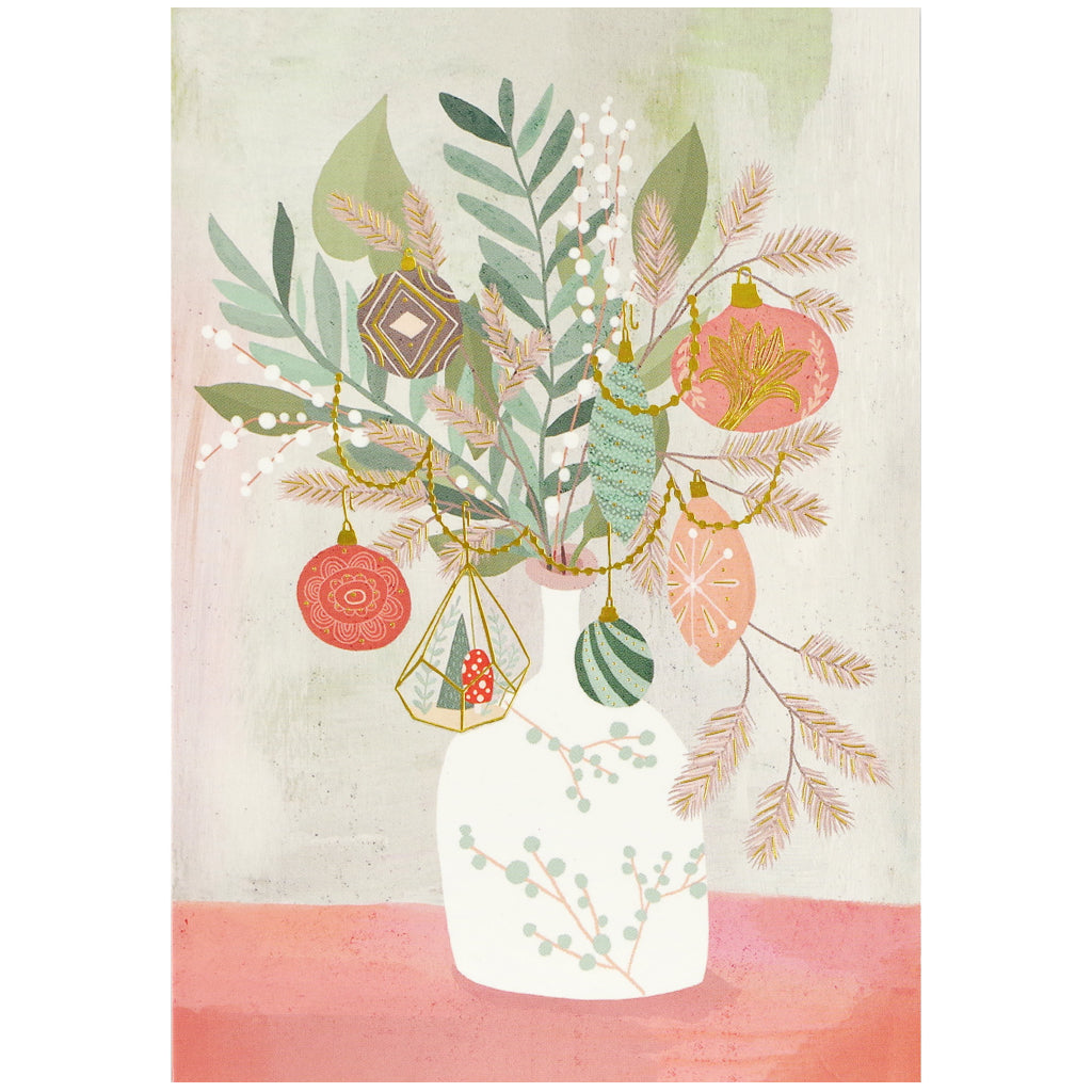 Merry Bouquet Boxed Holiday Cards