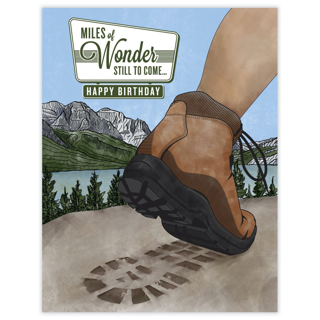 Miles Of Wonder Card