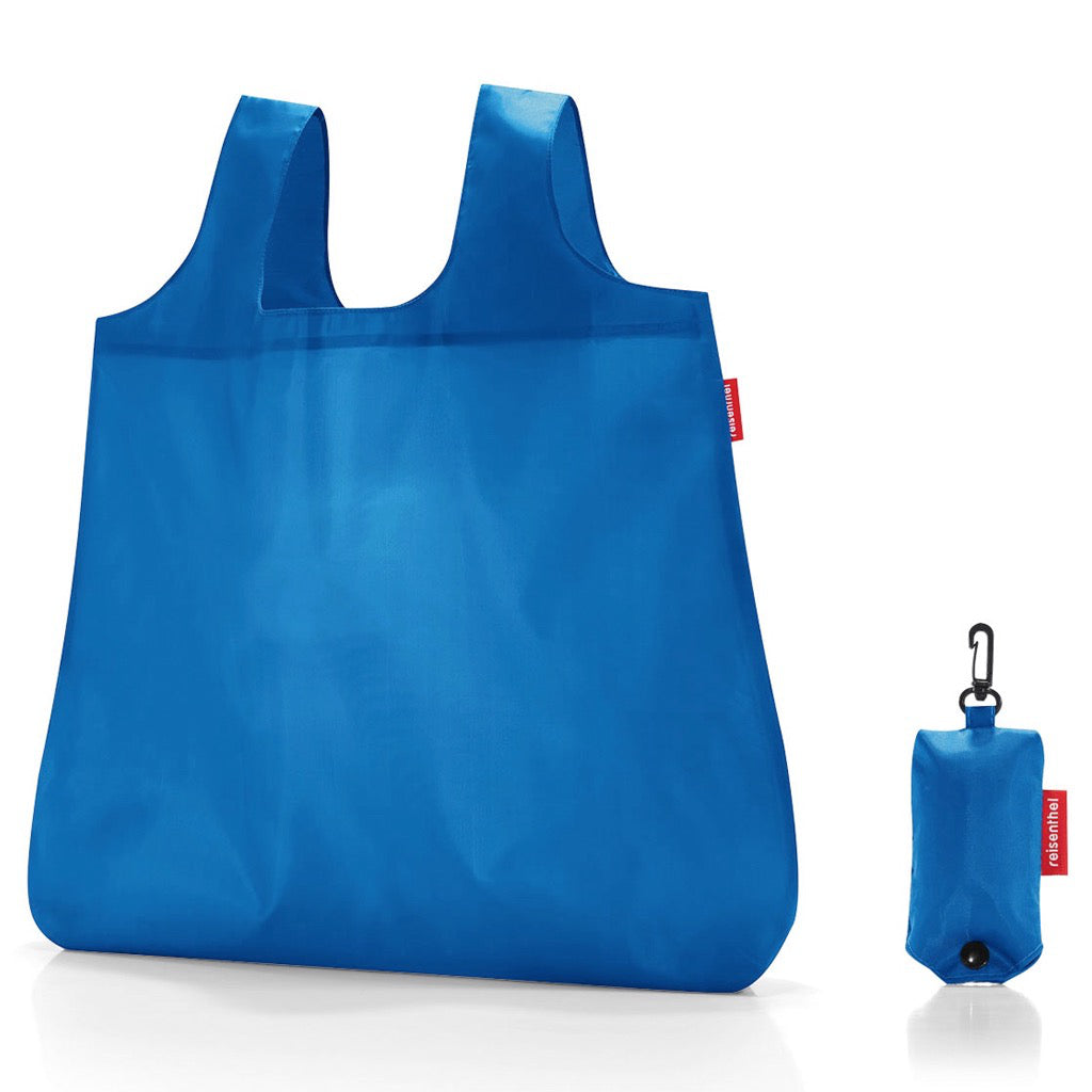 Mini Maxi Shopper Pocket French Blue