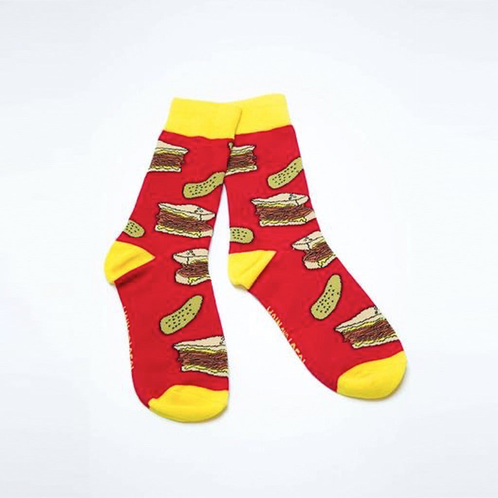 Pair of Montreal Smoked Meat Socks.