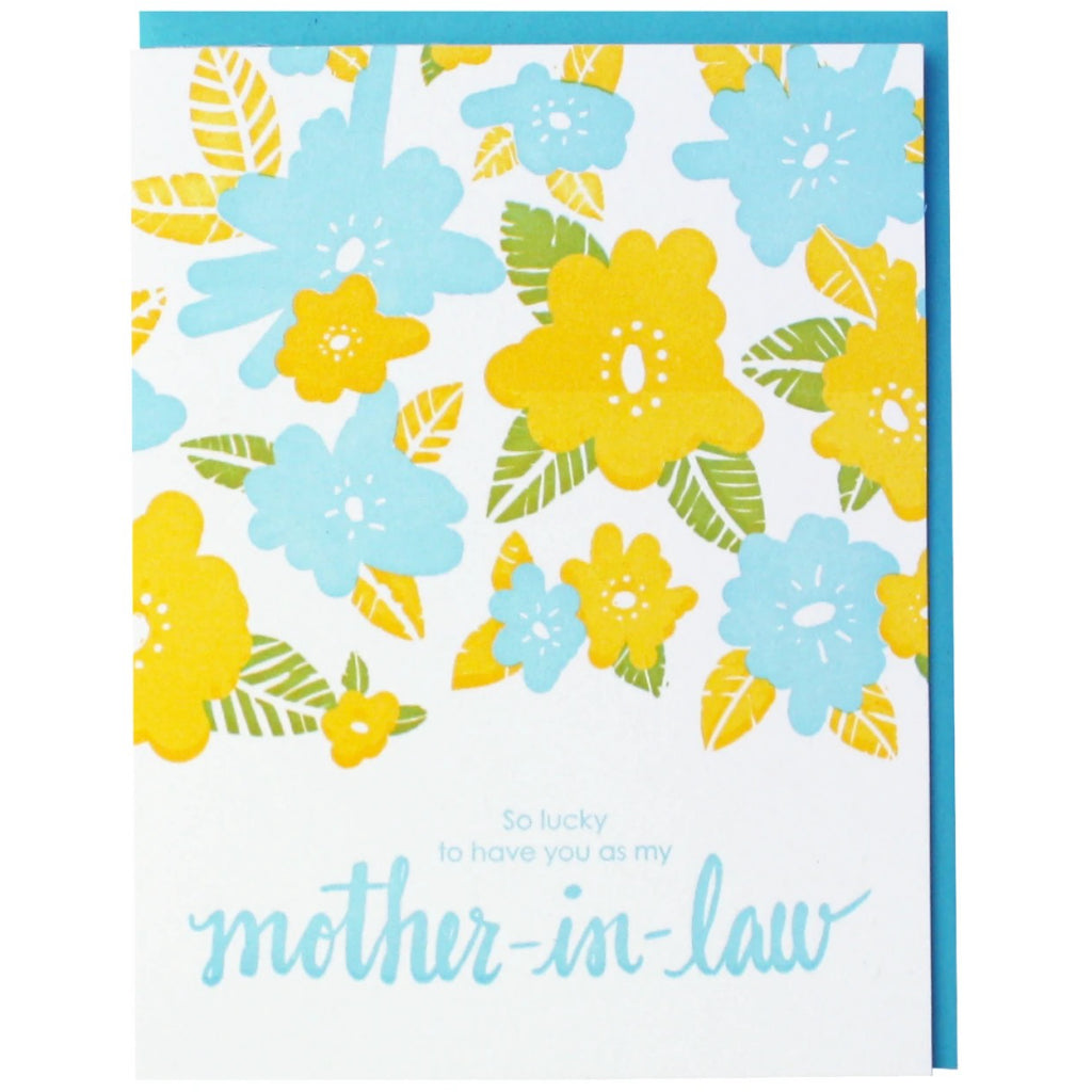 Mother-In-Law Floral Card
