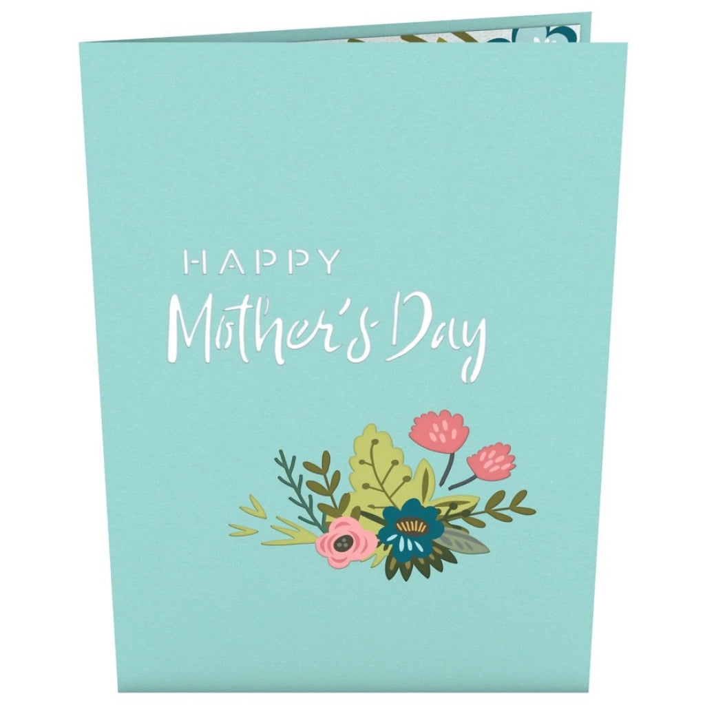 Mother's Day Award 3D Pop Up Card