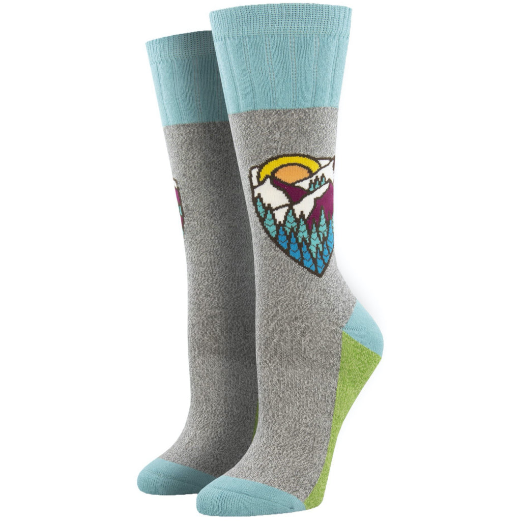 Mountain Top Outlands Socks Blue Small
