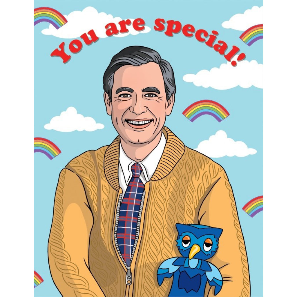 Mr. Rogers You Are Special Card.